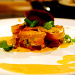 Rezept Auflauf Gratin mit Kartoffeln Süßkartoffeln und roter Beete von Kochbock.de