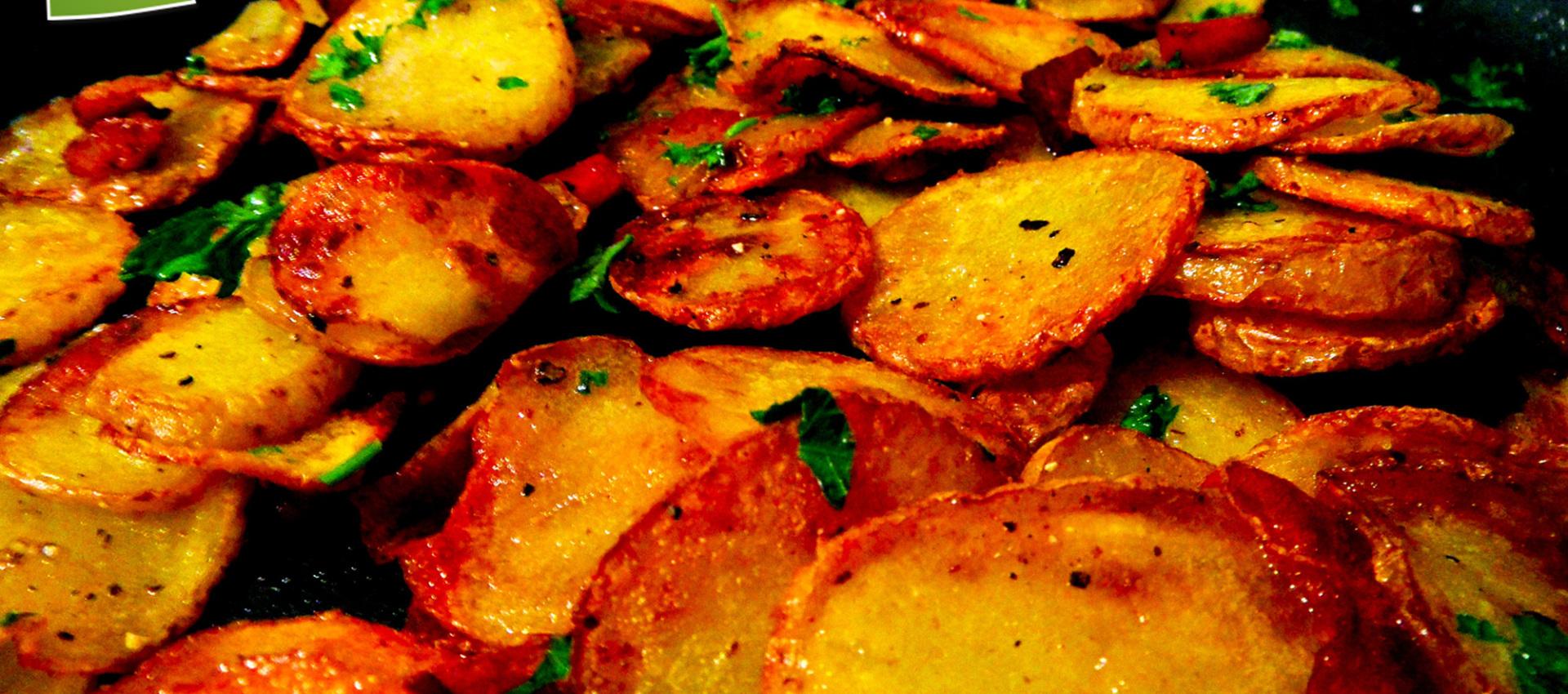 Rezept Bratkartoffeln mit Speck von KochBock.de