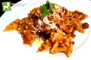Rezept Pasta Bolognese mit Wurst - Kochbock.de