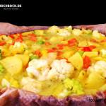 Rezept Gemüse Auflauf mit Parmesan von Kochbock.de