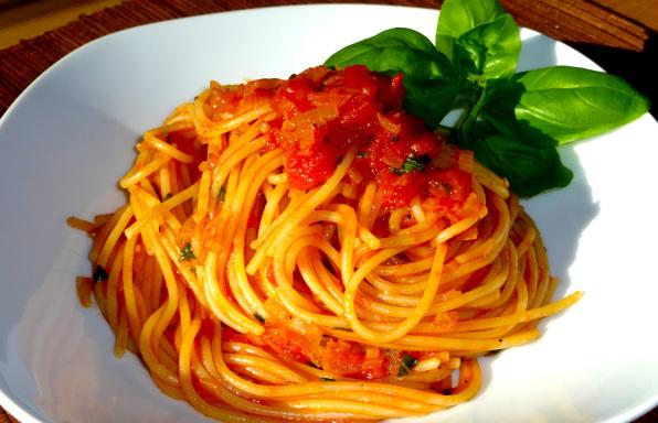 Rezept Spaghetti Pomodoro von Kochbock.de