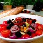 Rezept gebackener Schafskäse mediterrane Art - Kochbock.de