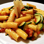 Rezept Scharfe Zuccini Carbonara von Kochbock.de