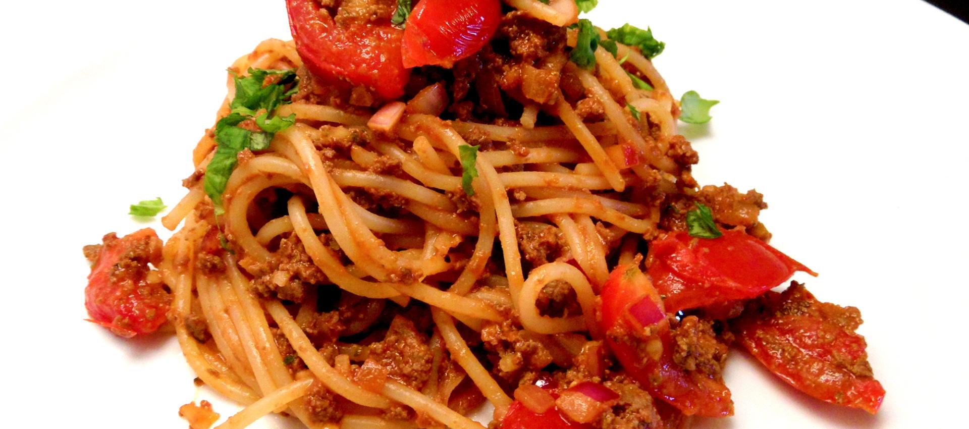 Rezept Spaghetti Bolognese mit Leber - kochbock.de