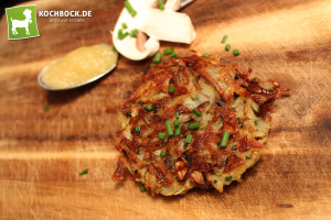 Rezept unbeschreiblich leckere Kartoffelpuffer - KochBock.de