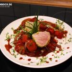 Rezept rosa Schweinefilet aus dem Ofen mit Gemüse - Kochbock.de