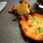 Rezept Sellerie Schnitzel mit selbstgemachtem Kartoffelbrei von KochBock.de