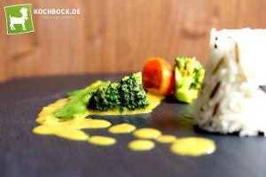 Rezept gelbes Curry mit Kokosmilch & Gemüse - KochBock.de