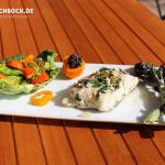 Rezept Kabeljau aus dem Backpapier mit Minze & Grillgemüse - Kochbock.de