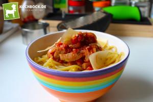 Rezept Spaghetti mit Thunfischsauce - KochBock.de