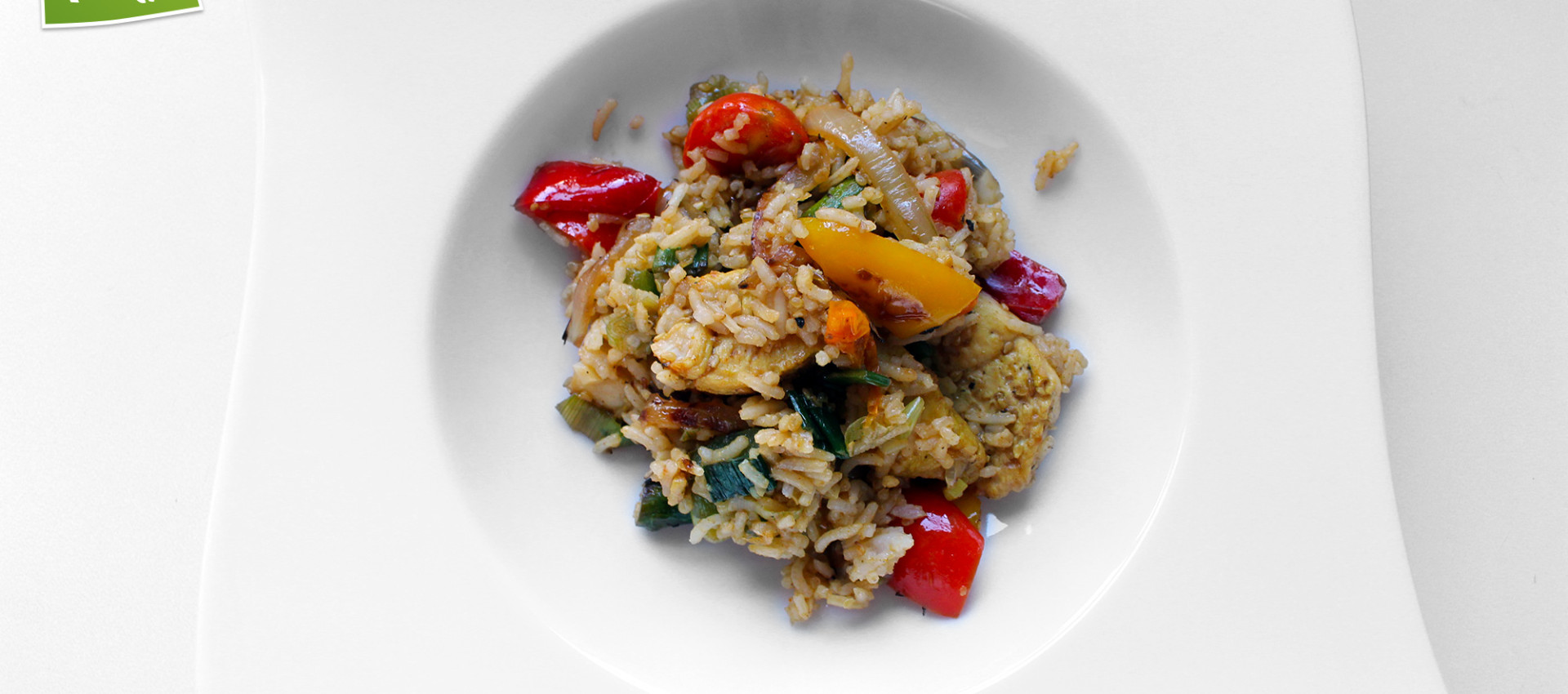 Rezept gebratenes Gemüse mit Reis & Spargel von KochBock.de
