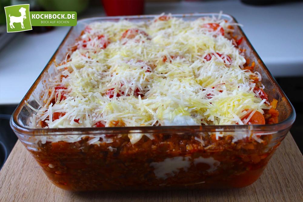 Rezept Lasagne alla Bolognese Zubereitung
