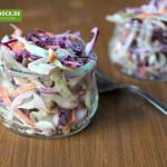 Rezept für einen englischen Krautsalat von KochBock.de