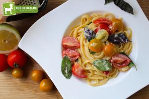Rezept frische Sommer Pasta von Kochbock.de