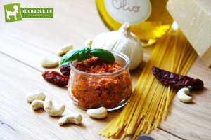Rezept Pesto alla Sicilian mit getrockneten Tomaten von KochBock,de