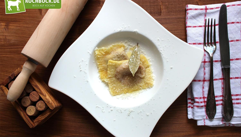 Rezept für selbstgemachte Ravioli von KochBock.de