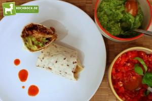 Rezept für mexikanischen Burrito von KochBock.de