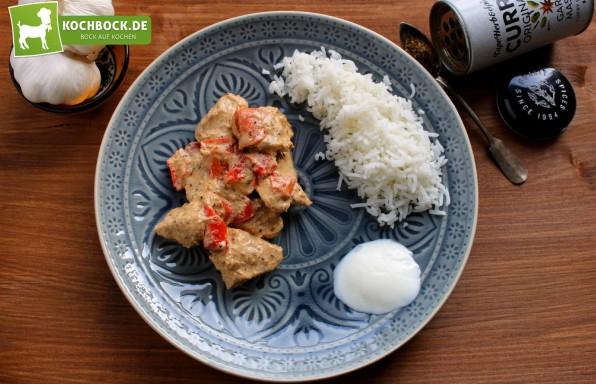 Rezept Chicken Garam Masala von KochBock.de