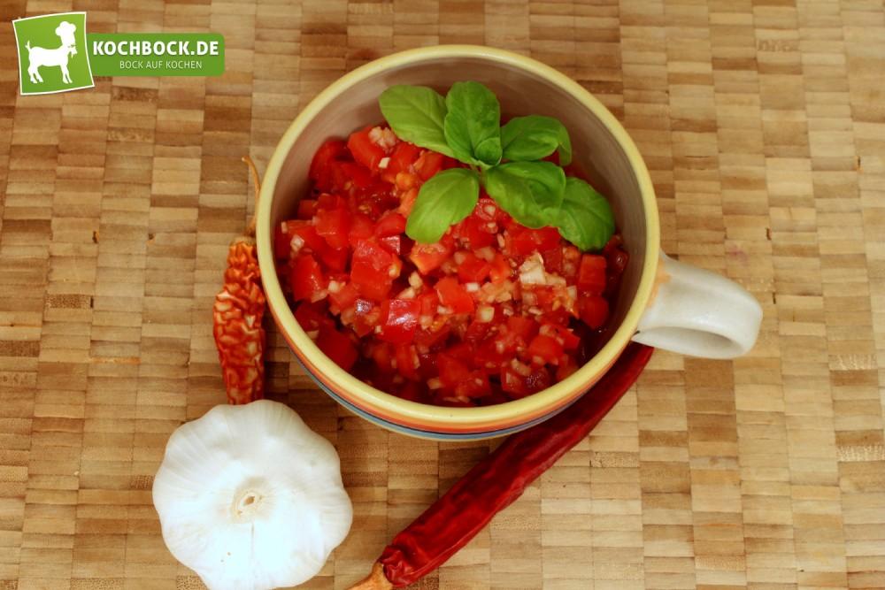Rezept für Tomatensalsa von KochBock.de