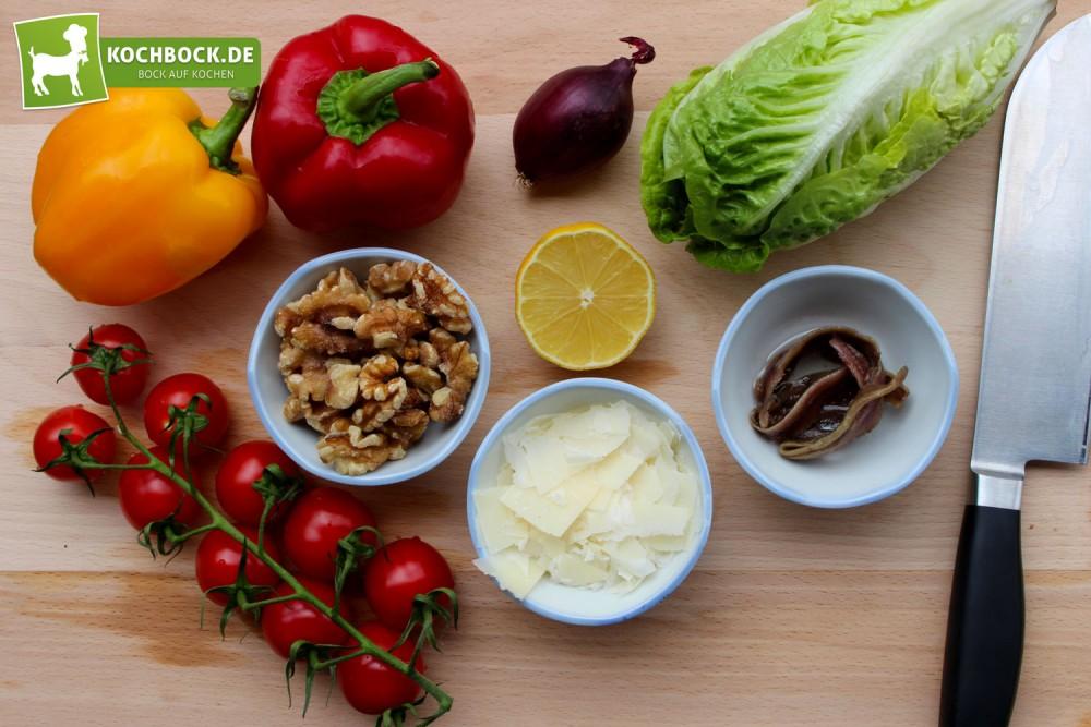 Rezept für italienischen Walnusssalat von KochBock.de