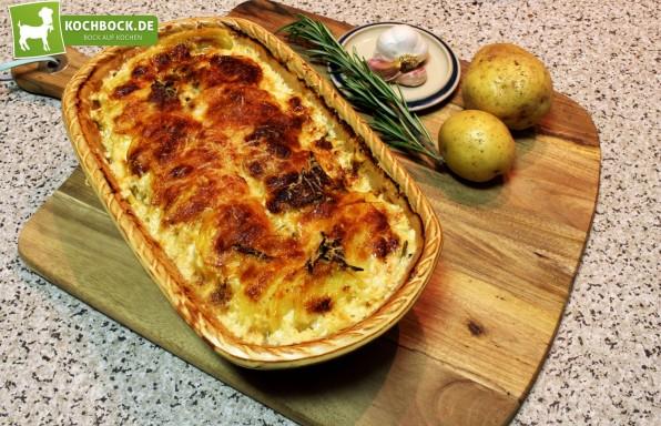 Rezept für italienisches Kartoffelgratin von KochBock.de