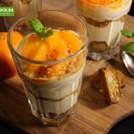 Rezept für Mascarpone Schichtdessert mit Cantuccini & Mandarinen von KochBock.de