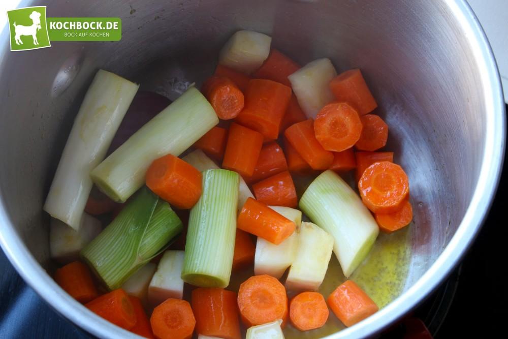 Rezept für Rinderkraftbrühe von KochBock.de