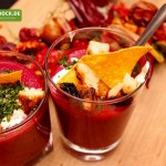 Rezept Rote Beete Suppe mit Äpfeln von KochBock.de