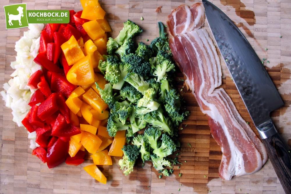 Herzhafter Salat mit Bacon von KochBock.de