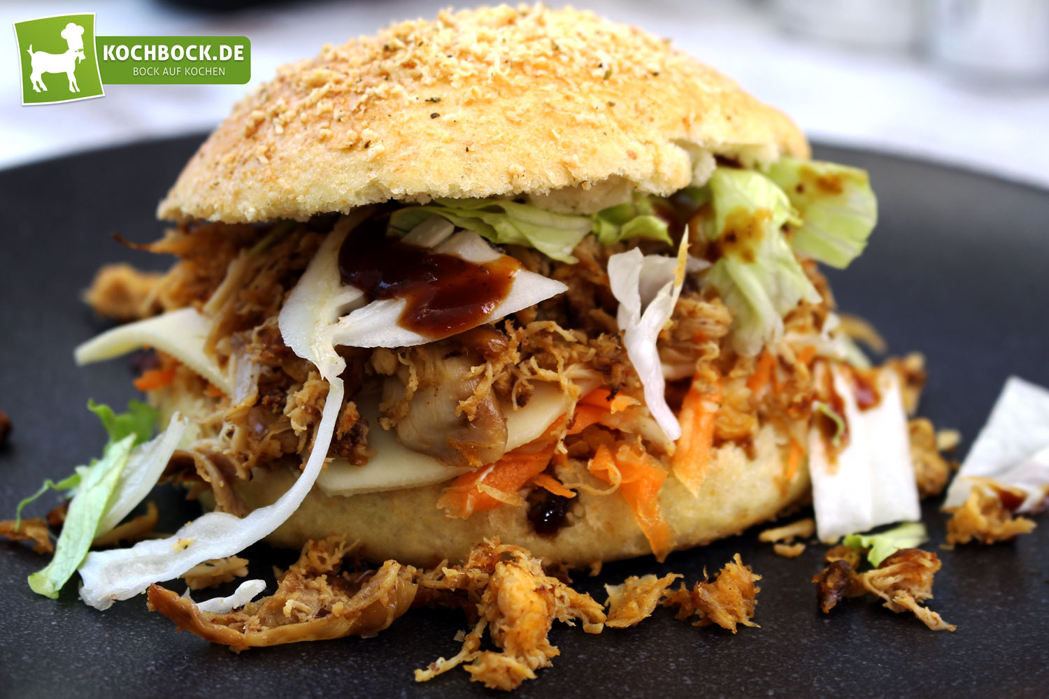 Pulled Chicken Deutsch