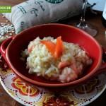 Rezept für Risotto mit Räucherlachs von KochBock.de