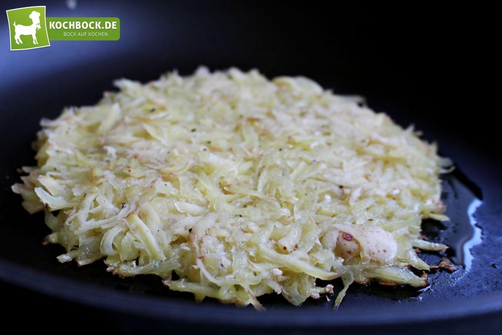 Rezept für Kartoffelrösti von KochBock.de