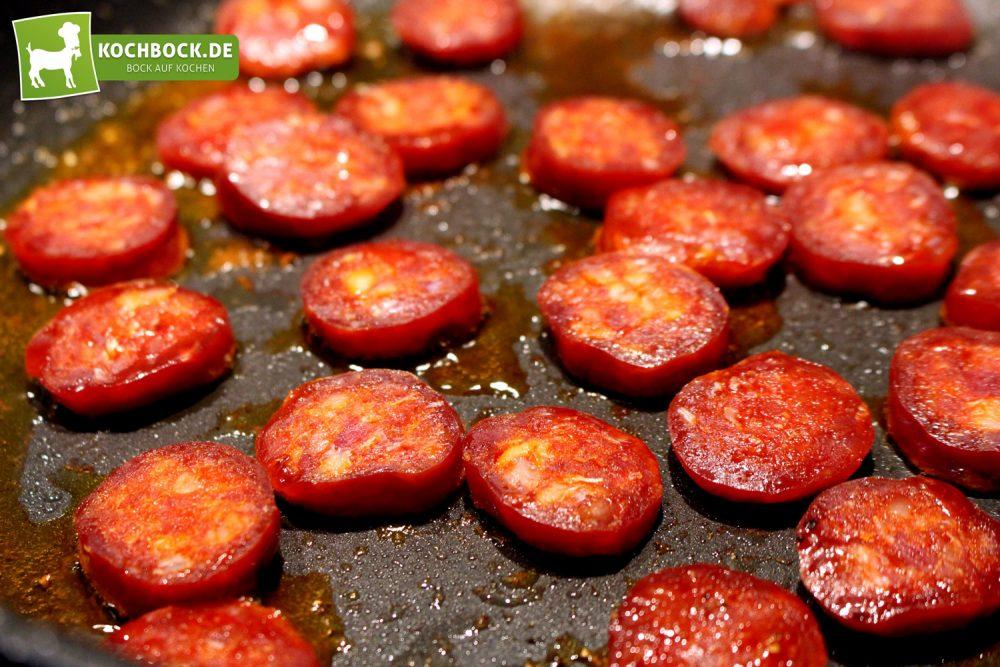 Spanischer Hähnchen Eintopf - Chorizo