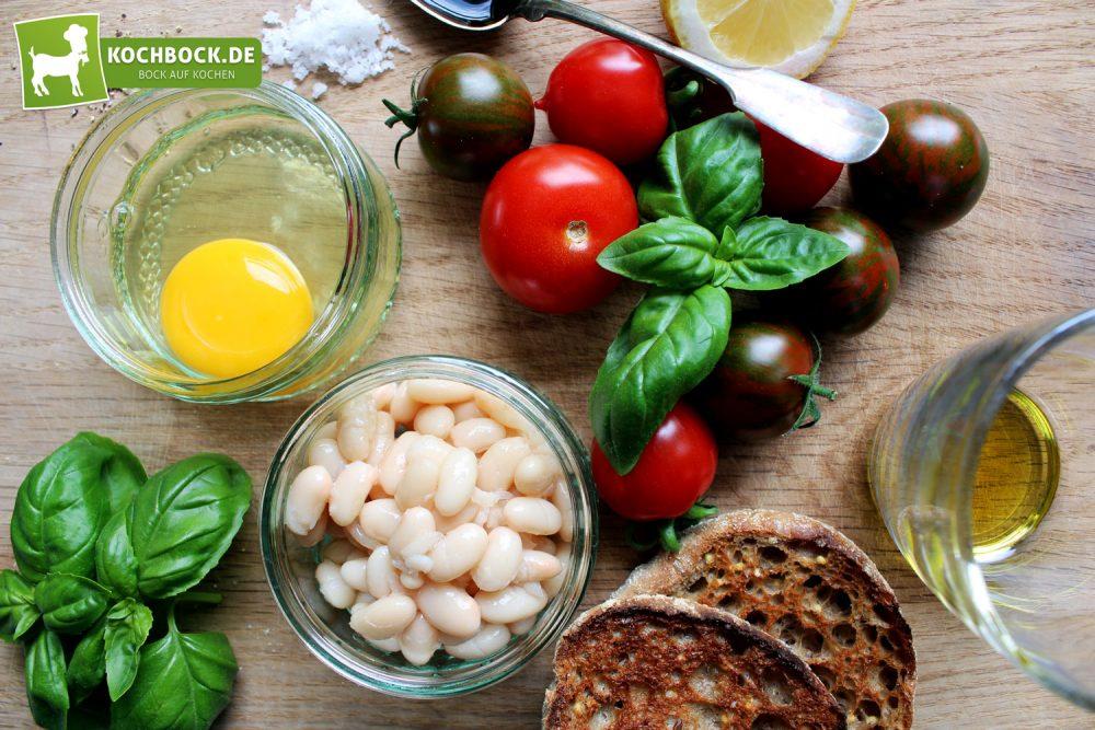 Rezept für ein Sportlerfrühstück von KochBock.de - Zutaten