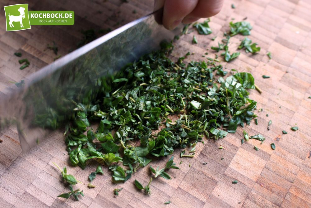 Rezept für Gegrilltes Antipasti auf Crostini von KochBock.de - Gewürze