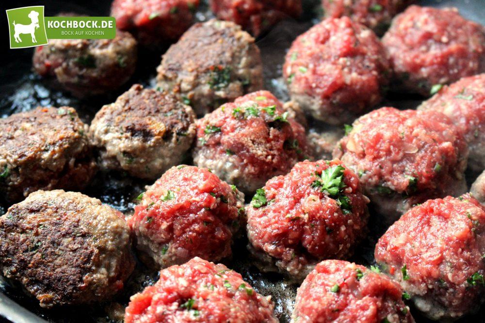 Rezept für spanische Albondigas von KochBock.de - Bällchen