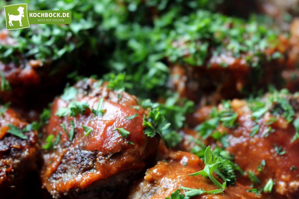 Rezept für spanische Albondigas von KochBock.de - Anbraten