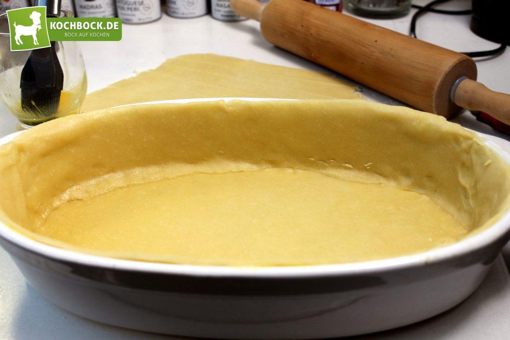 Rezept für Englischer Rinder-Pie von KochBock.de - Teig