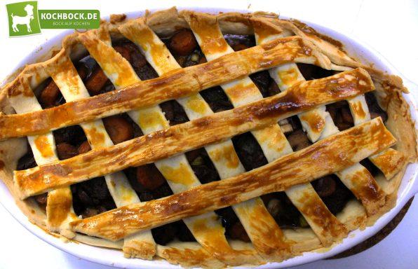 Rezept für Englischer Rinder-Pie von KochBock.de