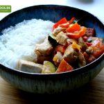 Rezept für Hähnchencurry mit Zucchini von KochBock.de